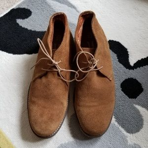 Red Tape Chukka Suede Boots